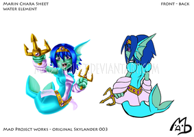 Skylanders Original: Marin Chara Sheet FB by MAD-project