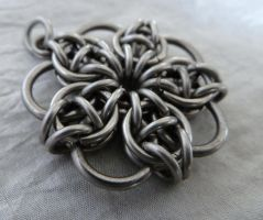 Celtic rose by S-Chainmaille