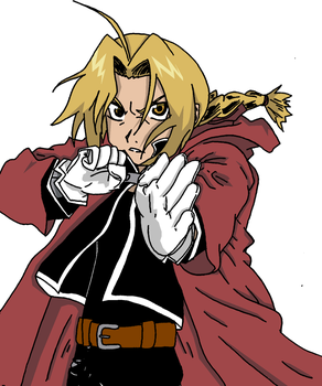 FullMetal Colored by Rae10009