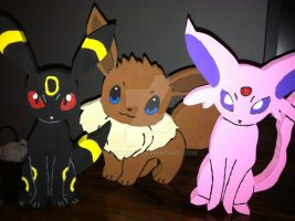 Eevee-Evolution Figures by daghostz
