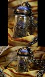 Deadly Nightshade Steampunk Jewelry #9 by DarcarinJewelry