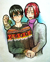 Free! Secret Santa gift by inazumaniac