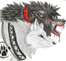 wolvesbane and tosogare by Suenta-DeathGod