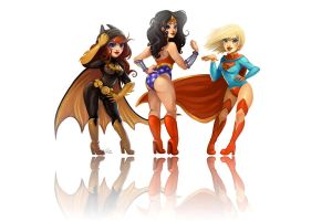 DC Ladies by Flying-Fox