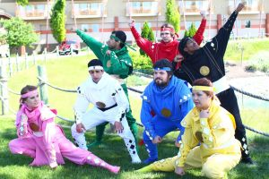 ColossalCon 2014 - Power Rangers 1 by VideoGameStupid