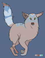 01 Wolf Adoptable - Open [Offers!] by DiverseAdoptables