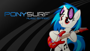 PonySurf Wallpaper by supermatt314