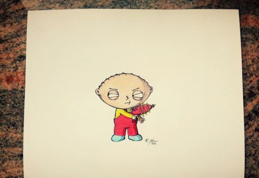 Stewie (Family Guy) by NatiHassansin