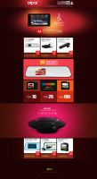 win8 style cool Christmas themes electricity suppl by lidingling