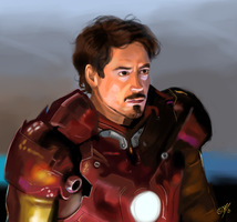 Iron man - Tony Stark by DreamyArtistRoxy3