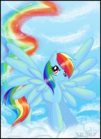 +. Rainbow Dash - BG .+ by YukiPyro