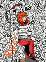Hayley Williams PARAMORE by RNZZZ