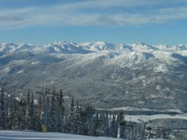 view from Whistler by Jivka