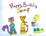 Happy Birthday Jenna! by Myrazhe