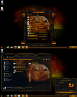 windows 7 theme halloween (2) by tono3022