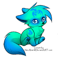 Dragon-fire puppy SOLD by ADS-Adoptables