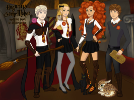 Big Four at Hogwart by GirlWithClover