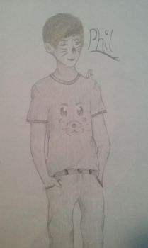 Phil Lester by 2pPastel