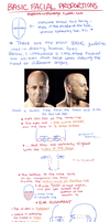 TUTORIAL: Basic Facial Proportions by Kerlasia