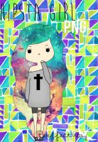 Hipster Girl png ByPerffectWay by PerffectWay