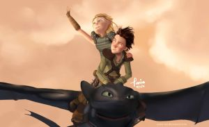 Fly with me by nania-tan