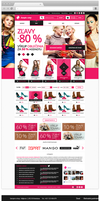 E-commerce website concept by JakubSpitzer