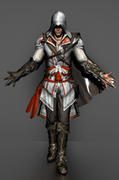 Assassin's Creed II - Ezio Auditore by IshikaHiruma