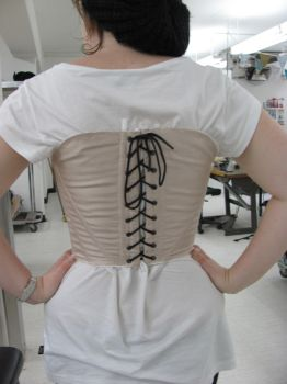 Corset - backview by SufficiantlyInsane