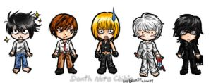 Death Note Chibis by rose-star