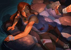 Tomb Raider 2013 Lara in Danger final by LexiGold