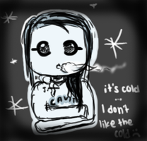 it's cold by pandachooo