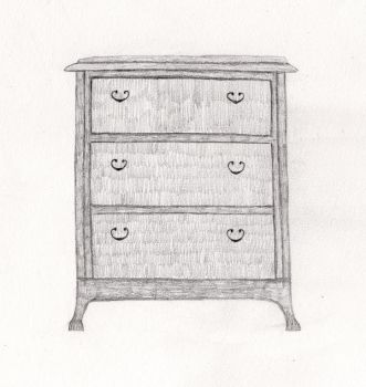 Chest of drawers by KatrineK