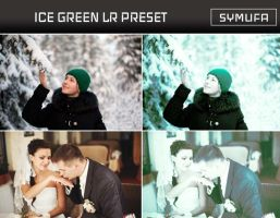 ICE GREEN LIGHTROOM PRESET 0026 by symufa