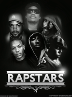 RAPSTARS Poster by Shiftz