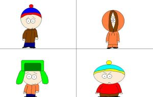 South Park boys 1 by notacukoofangirl121