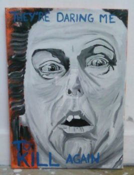 Aileen Wuornos Painting. by Th3-Distill3r