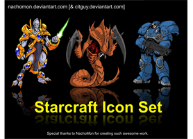 Starcraft Icons by CITguy