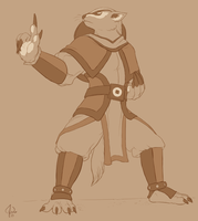 Badgermole Earthbender by Red-Lynx