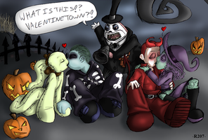 Valentinetown??- COLORED by R2ninjaturtle