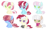 Photo Finish x Roseluck Offer to Adopts by sugarfate