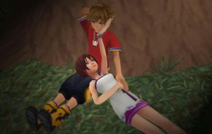 Sora x Kairi - Our Moment Alone by rev-rizeup