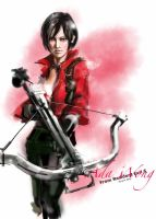 Ada Wong from Resident Evil 6 by Leanncn