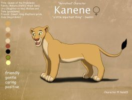 Kanene Ref Sheet by Nala15