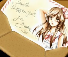 Happy new year by Sophie--Chan