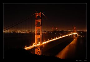 Golden Gate Bridge by endure