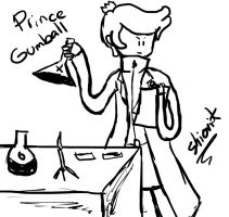 Prince Gumball doodle by Shiori-K
