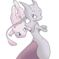 Mew and Two by GothicSnowflake