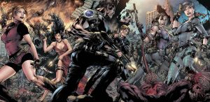 Resident Evil - Pencil Ed Benes Color by Dinei R by Ed-Benes-Studio