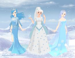 water,wind rezult ice by smile234maria