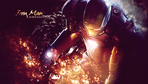 Iron Man by LuminorDesigns